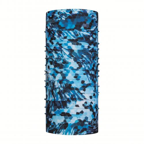 Coolnet UV Buff Bugslinger Mosaic Camo Marine Blue