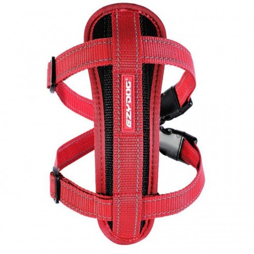 Ezydog Chest Plate Harness - Red