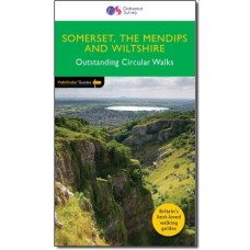 OS Pathfinder Guide Somerset, the Mendips & Wiltshire