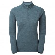 Montane Women's Protium Fleece Pull-On - Astro Blue