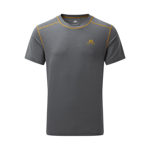 Mountain Equipment Mens Headpoint Tee - Flint Grey