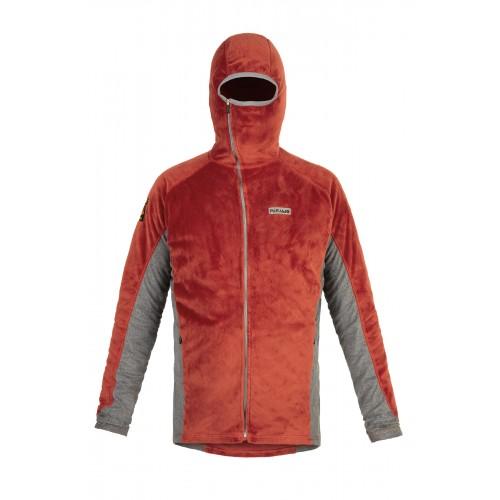 Paramo Mens Ostro Plus Fleece Jacket - Outback Red