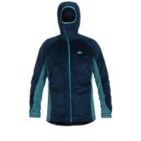 Paramo Mens Ostro Plus Fleece Jacket - Midnight/Neon Blue