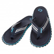 Sinner Flip Flop Dark Blue/White