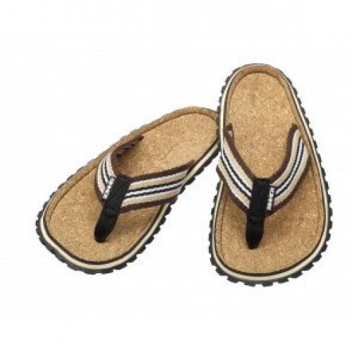 Sinner Flip Flops Brown Cork
