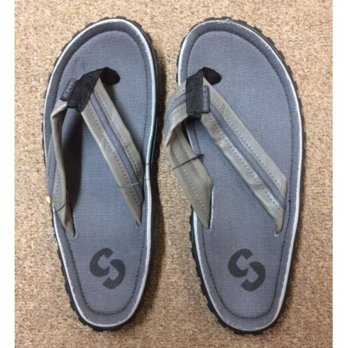 Sinner Grey/Black Flip Flop