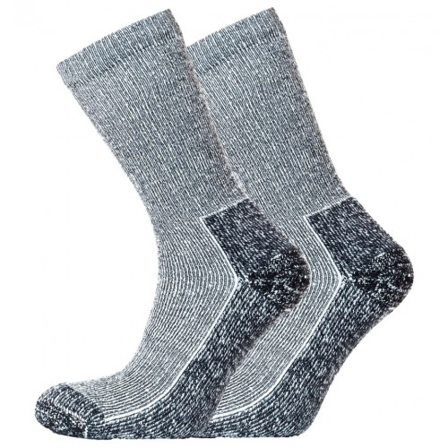 Horizon Coolmax Outdoor Sock 2 Pack – Black Marl