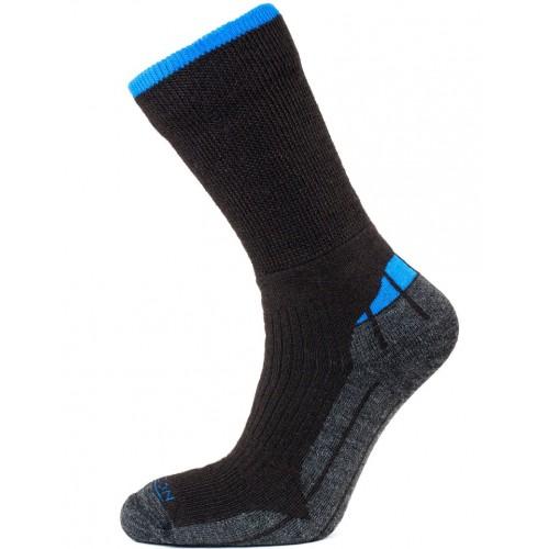 Horizon Merino Hiker Sock Brown Marl/Blue
