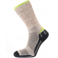 Horizon Merino Hiker Sock Natural/Apple