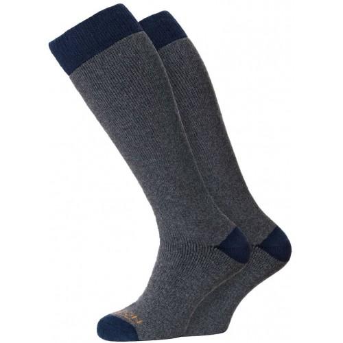Horizon Winter Sport Merino Sock 2 Pack Charcoal/Navy