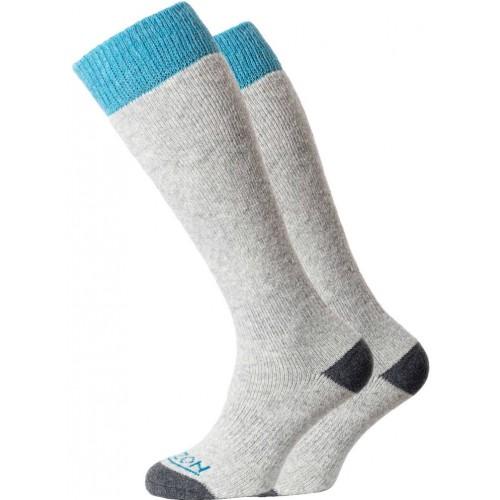 Horizon Winter Sport Merino Sock 2 Pack Grey/Teal