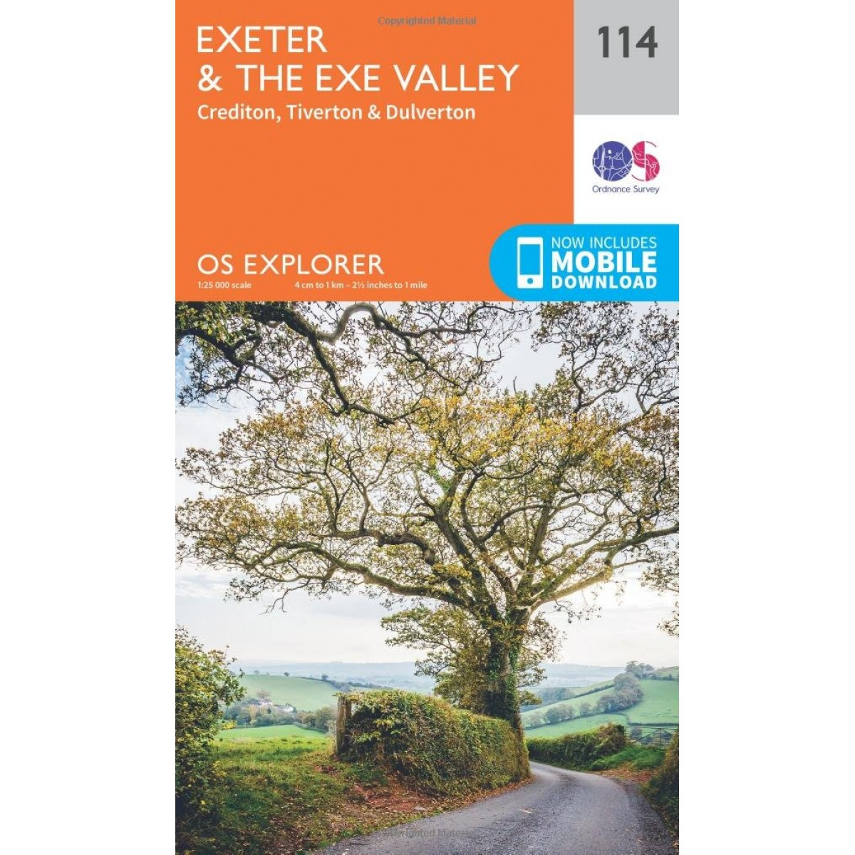 explorer map 114 exeter and the exe valley explorer maps 1