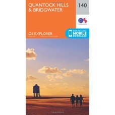 OS Explorer Map 140 Quantock Hills and Bridgwater