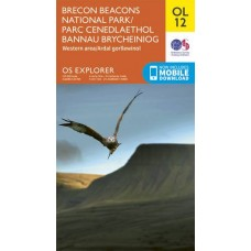 OS Explorer OL12 Brecon Beacons - Western & Central
