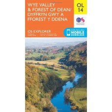 OS Explorer OL14 Wye Valley and Forest of Dean