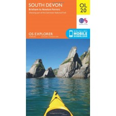 OS Explorer OL20 South Devon, Brixham to Newton Ferrers