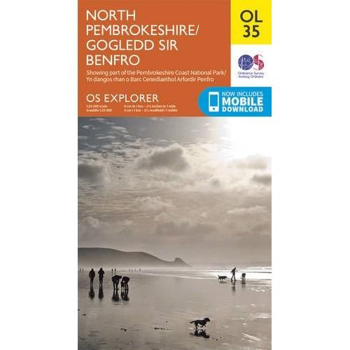 OS Explorer OL35 North Pembrokeshire