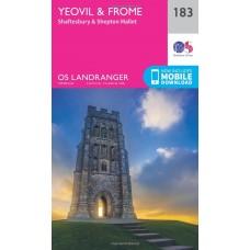 OS Landranger 183 Yeovil & Frome