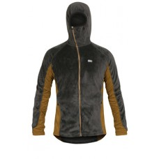 Paramo Mens Ostro Plus Fleece Jacket - Dark Grey/Cumin