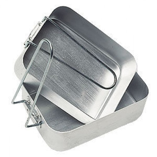 Aluminium Mess Tins - 2 Piece