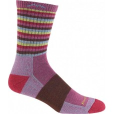 Darn Tough Womens Stripe Micro Crew Cushion Sock