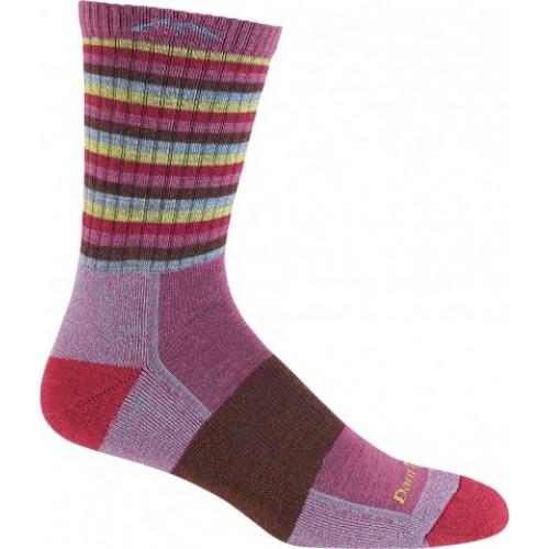 Darn Tough Womens Stripe Micro Crew Cushion Sock