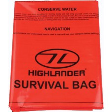 Emergency Survival Bag Single