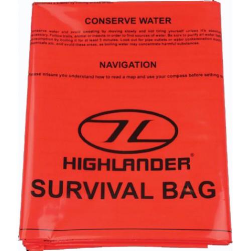 Emergency Survival Bag Single