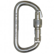 Foin 10mm Steel Offset Screwgate Karabiner