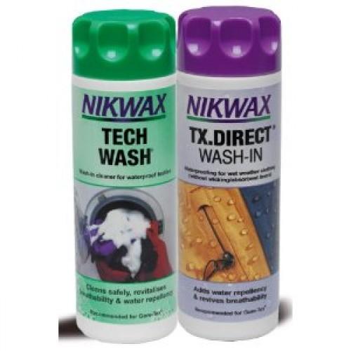 Nikwax Tech Wash + Wash-in TX Direct 300ml