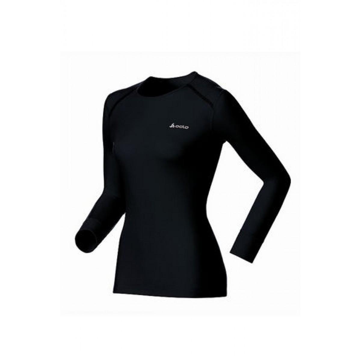 odlo women original warm long sleeve crew odlo base layers b97b72311