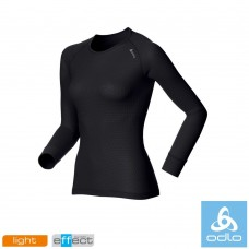Odlo Womens Long Sleeve Cubic Light Crew Neck