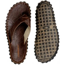 Sinner Track Design Flip Flop - Brown