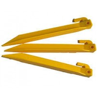 Yellow Plastic Power Peg